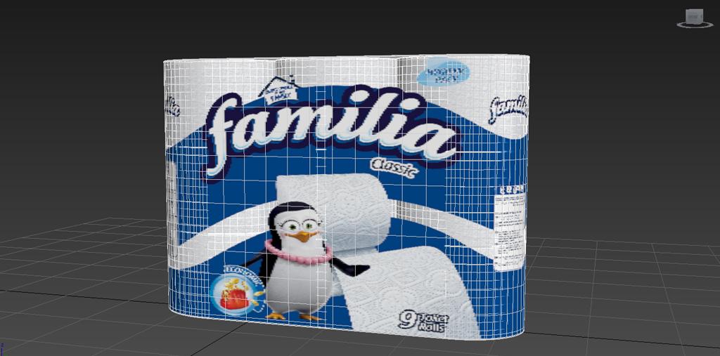 3 Boyutlu Ürün Modelleme Familia Temizlik Ürünleri   r  n modelleme animam