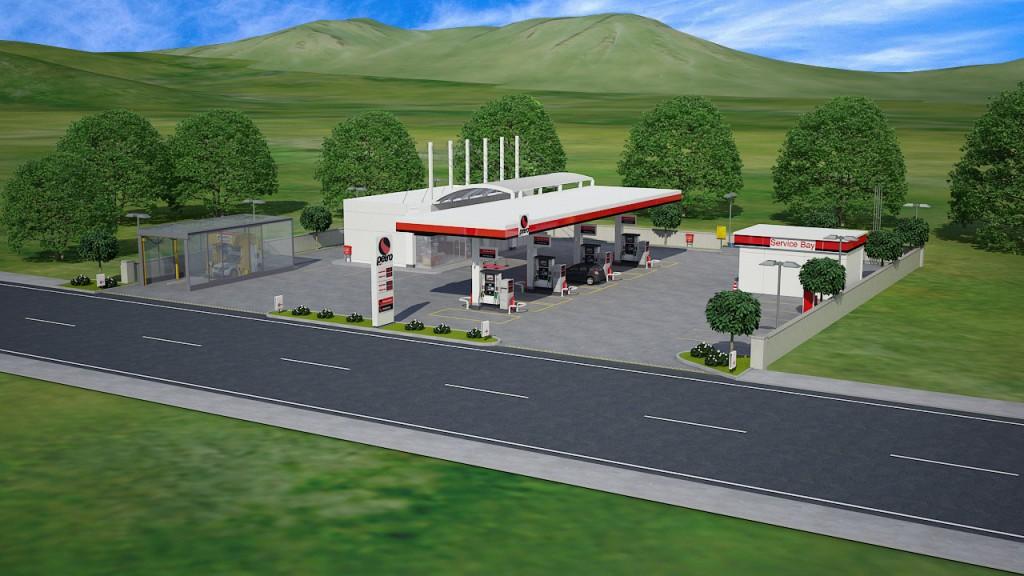 Çalışmalarımız Neler Yaptık ? 3D Akaryak  t istasyon animasyon 3D Gas station Animation Çalışmalarımız Neler Yaptık ? 3D Akaryak C4 B1t istasyon animasyon 3D Gas station Animation