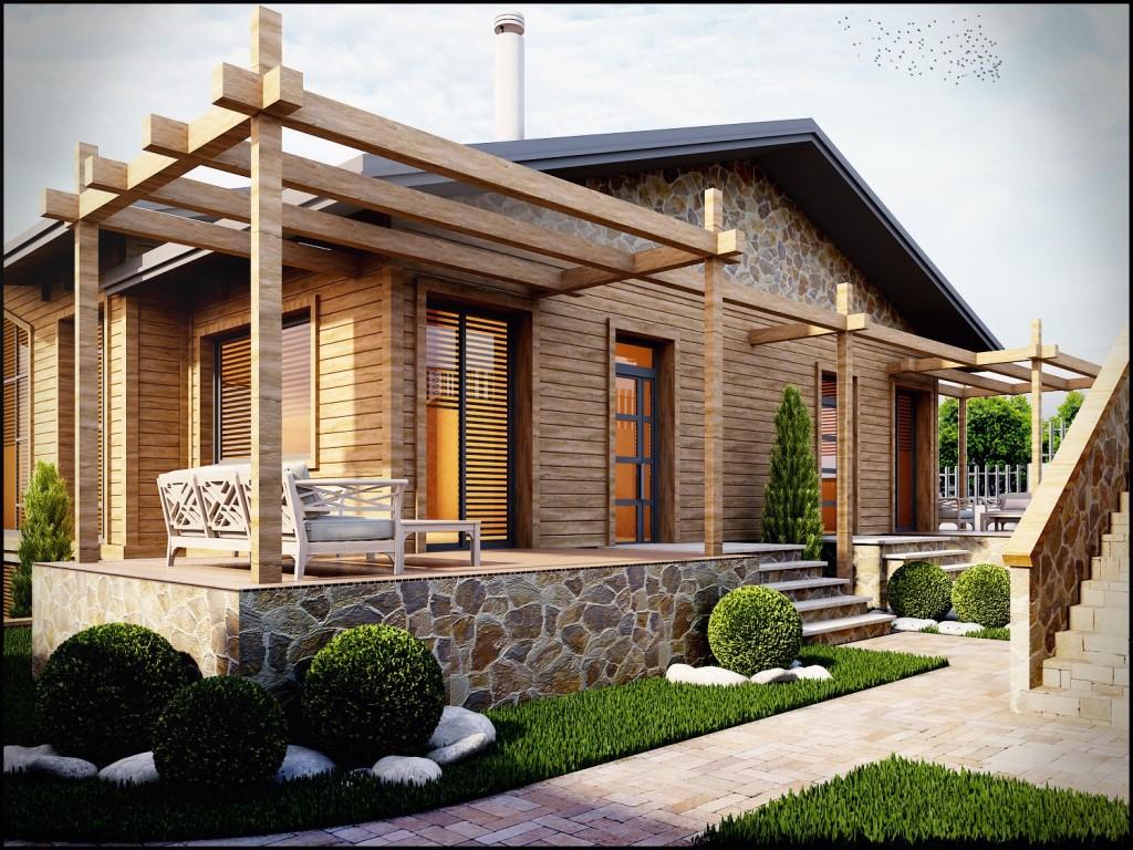 3 Boyutlu Villa Modelleme ve Tasarım Villa 3d model www