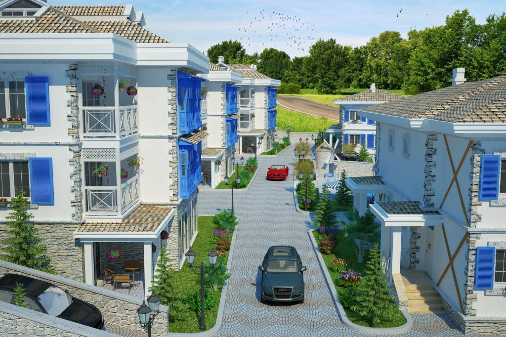 3 Boyutlu Villa Çizimi & 3D Villa Tasarımı 3 Boyutlu Villa   izimi animam 1