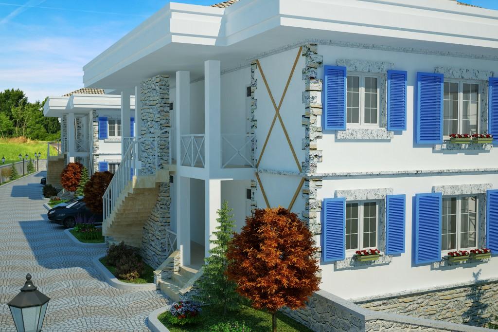 3 Boyutlu Villa Çizimi & 3D Villa Tasarımı 3 Boyutlu Villa   izimi animam 10