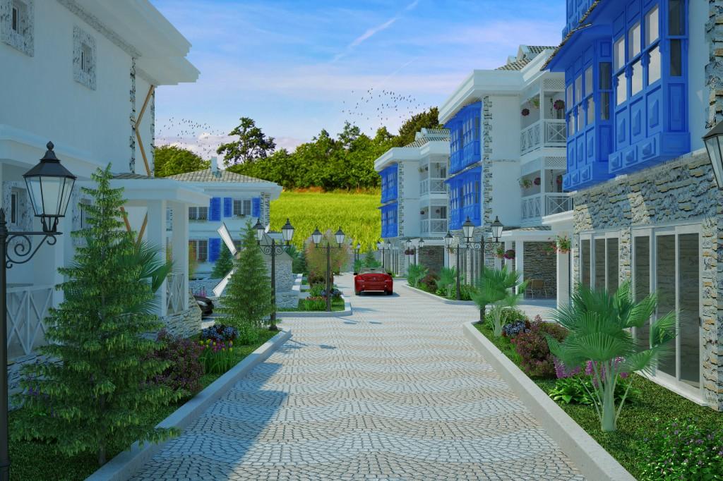 3 Boyutlu Villa Çizimi & 3D Villa Tasarımı 3 Boyutlu Villa   izimi animam 11
