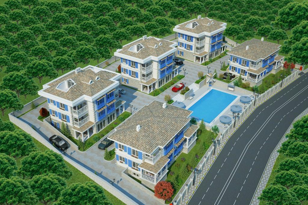 3 Boyutlu Villa Çizimi & 3D Villa Tasarımı 3 Boyutlu Villa   izimi animam 13