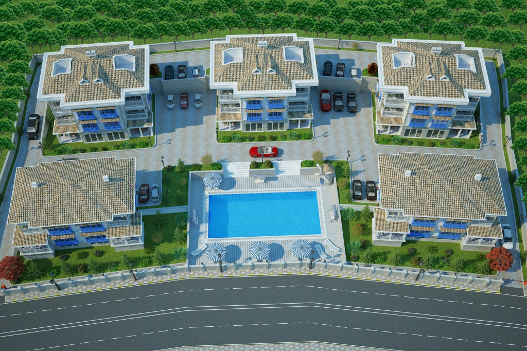 3 Boyutlu Villa Çizimi & 3D Villa Tasarımı 3 Boyutlu Villa   izimi animam 14