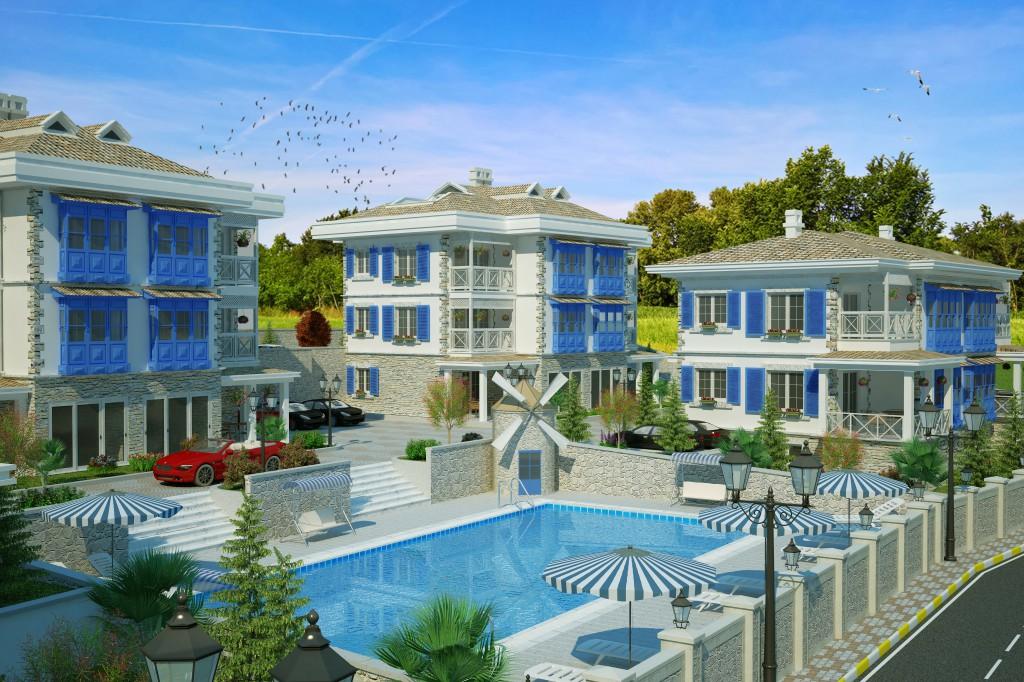 3 Boyutlu Villa Çizimi & 3D Villa Tasarımı 3 Boyutlu Villa   izimi animam 2