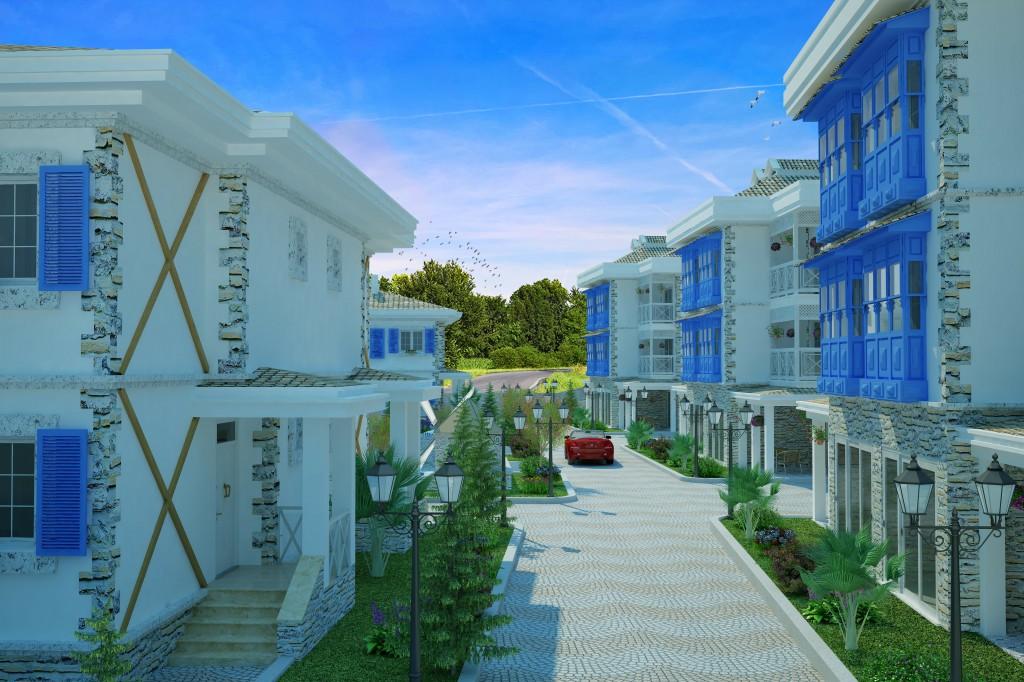 3 Boyutlu Villa Çizimi & 3D Villa Tasarımı 3 Boyutlu Villa   izimi animam 3