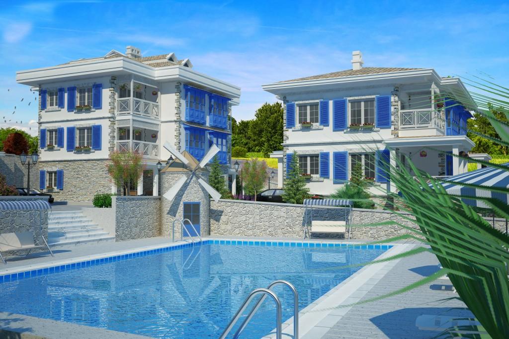 3 Boyutlu Villa Çizimi & 3D Villa Tasarımı 3 Boyutlu Villa   izimi animam 5