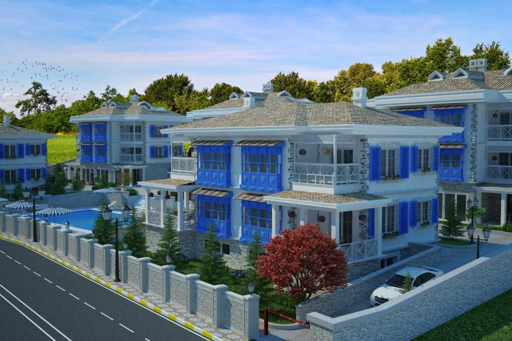 3 Boyutlu Villa Çizimi & 3D Villa Tasarımı 3 Boyutlu Villa   izimi animam 8