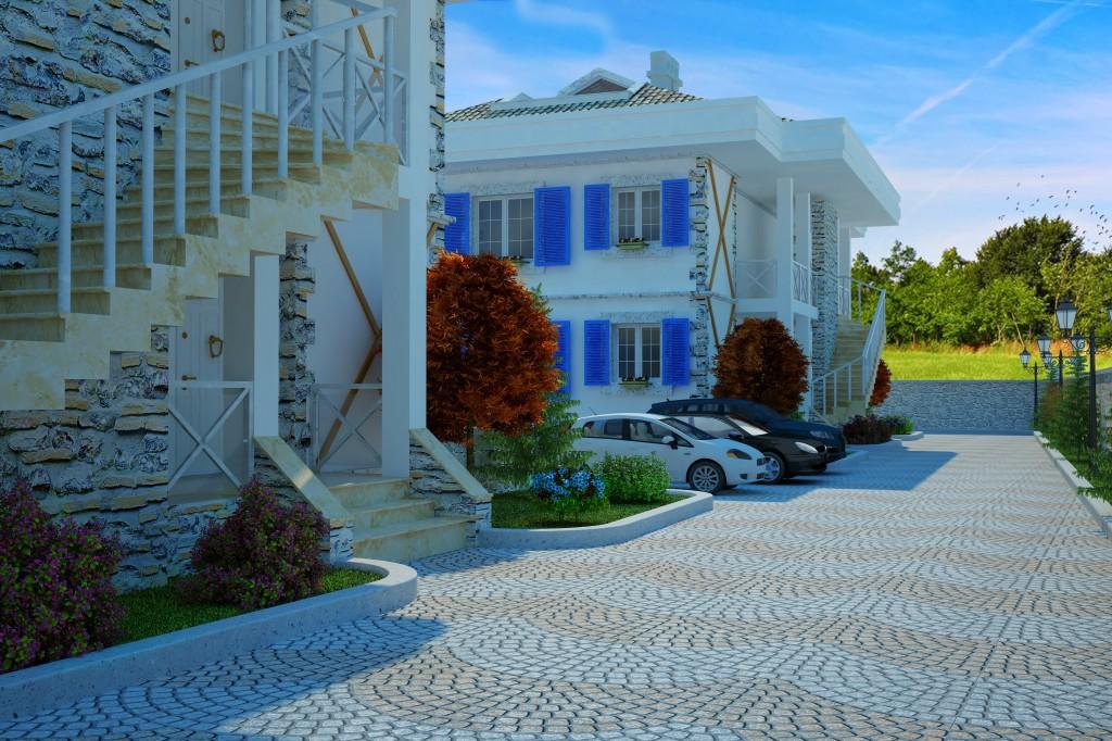 3 Boyutlu Villa Çizimi & 3D Villa Tasarımı 3 Boyutlu Villa   izimi animam 9