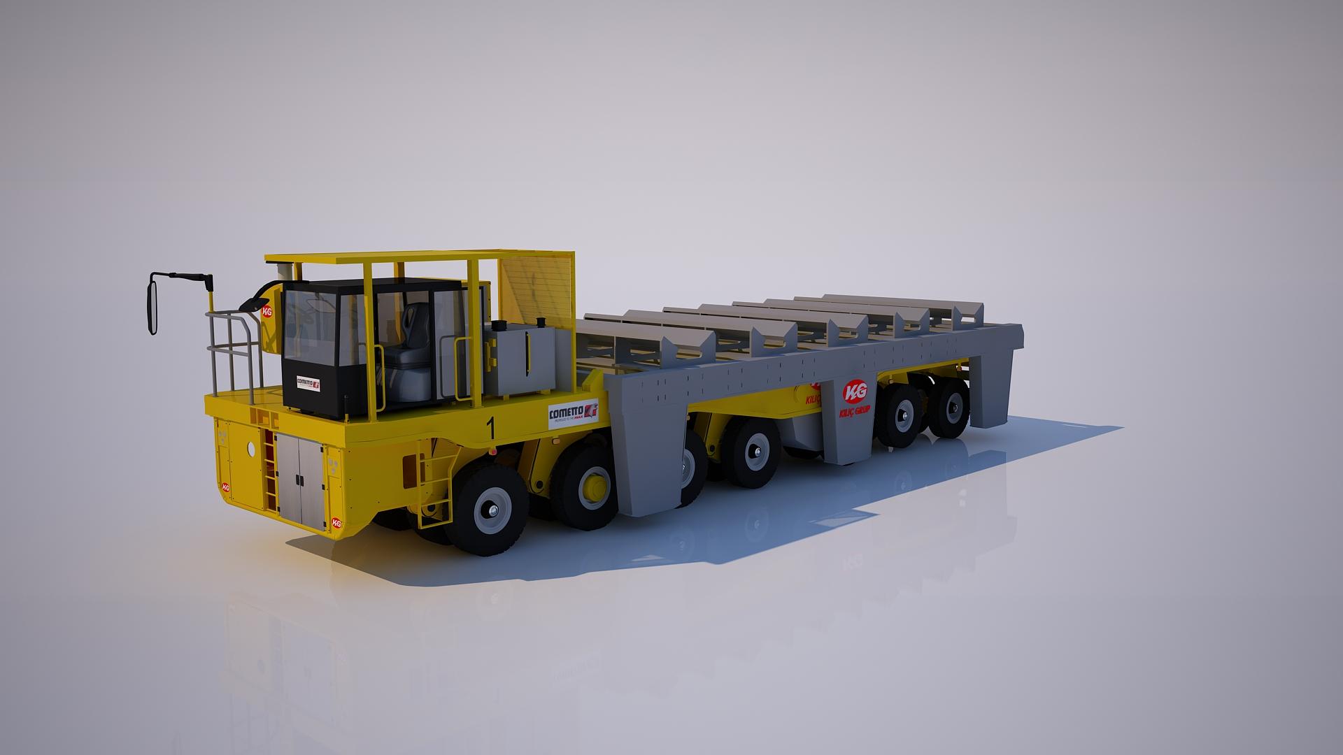 otomatik taslak 3 Boyutlu Vinç Modelleme 3 Boyutlu Liman Vin   ve Ta    y  c   Tersane Animasyonu Animam 13